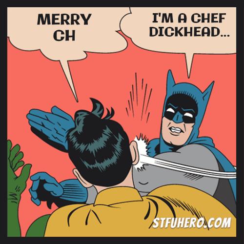 Merry Christmas Batman Meme.Merry Christmas Stfu Hero Meme Generator Batman Slaps